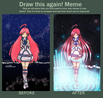 Meme: Before and After by maiibe