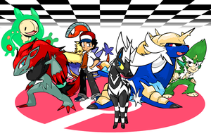 The Unova Team by NkoGnZ