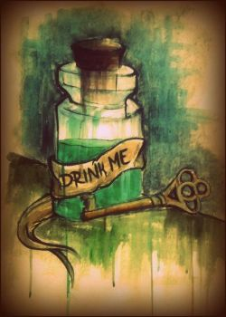 drink me. by NatalieCandice