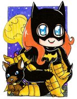 Batgirl and Ace The Bathound! by CuddlyCapes