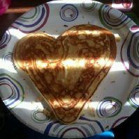 heart shaped pancake by TimelessOcean