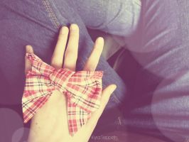 Vintage Bow. by KyraTeppelin