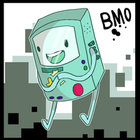 BMO by Smudgeful-Thinking