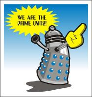 Dalek Prime by Captain-Galant
