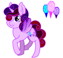 Cotton candy[Requested by MagicKnife142] by PureZparity