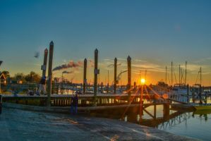 Maritime Port Sunset starburst November 29 2014 4 by ENT2PRI9SE
