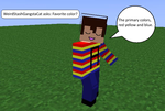 Question Two (Favorite Color?) by SkyloxAndMinecraft