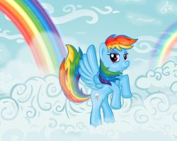 Rainbow Dash by Alevgor
