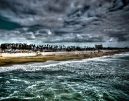Huntington Beach, CA by ZhoraQ