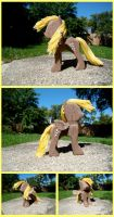 Derpy Hooves Woodwork IV by xofox