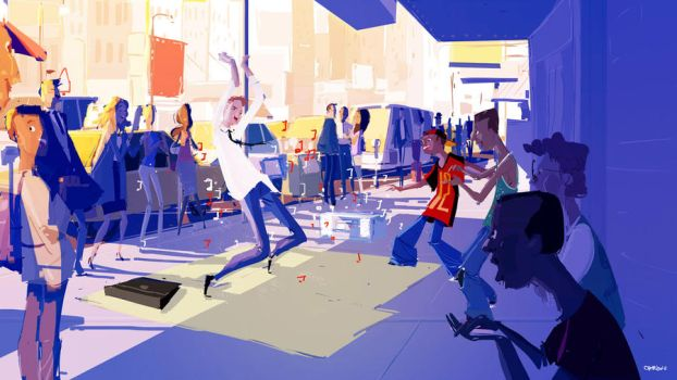 Street Dance by PascalCampion