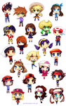 Pokespe chibis for pokespecial.pl by Tymkiev