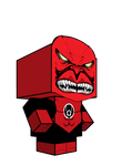 Atrocitus cubeecraft 3D-model by JagaMen