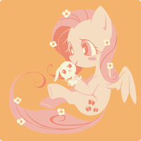 FlutterShy by Ssalbug