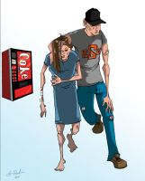 Limping to the Soda Machine by uppitycracker