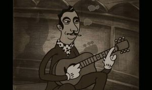 Django Toon - a tribute to Django Reinhardt by LatchDrom