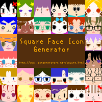 Square Face Icon Generator by h071019