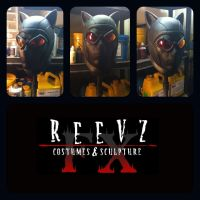 Arkham City Catwoman cowl by ReevzFX