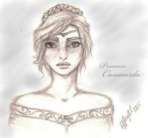 Princess Cassandra of Araluen by AquariusMj212