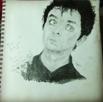 Billie Joe Armstrong by pinklemonade55