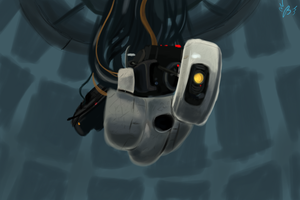 GLaDOS by BudgieFlitter