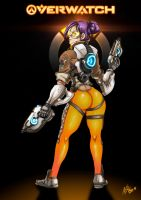 Over the Shoulder? (Tootie cosplaying) by N7Vega
