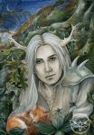 The Stag Prince by JannaFairyArt
