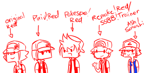 Four Reds and an Ash by Karin-Sawada