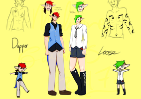 Loose and Dapper NEW REFERENCE by mimimaddy101