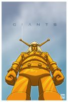 Giant - Goldar by DanielMead