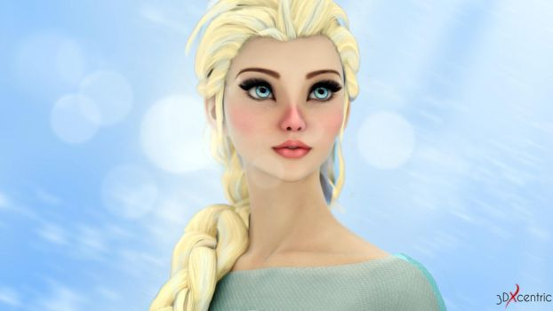 Elsa by 3DXcentric
