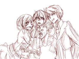 Love TRIANGLE by NikoDere