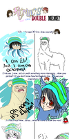 Double Meme Eli edition by muffin-tart
