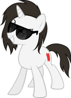 New Skrillex Pony Look by TehAwesomeFace