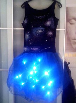 Handmade Galaxy Dress by HipsterOwlet