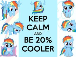 Keep Calm and Be 20% Cooler by berry331