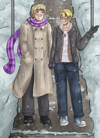 A Walk in the Snow by Dei-chan-luv