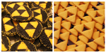 Triforce Cookie Roll and Cutout + Recipes + Videos by SweetMissCreation
