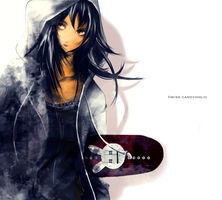 Skater Girl by biancalonesse