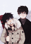 Okumura Brothers by Vongrell