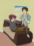 SouRin - Sofa by SamCyberCat