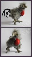 CESARE soul-keeper chicken plush by hikigane