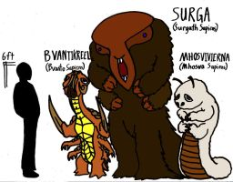 Surga, Bvantikreel, and Mhos...vhos...whatever by Andrew-Parkin