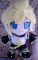 Len Kagamine Plushie by AnimeMoore
