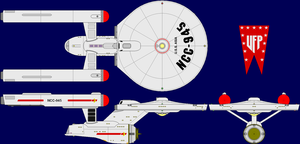 USS Asia (TOS upgrade 2) by MarcusStarkiller