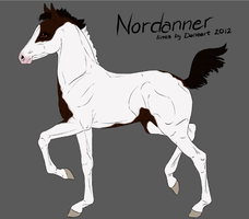 5008 Nordanner Foal by RW-Nordanners