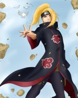 Deidara by SugarCoatedLollipops