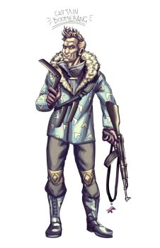 Captain Boomerang by mrAlejoX