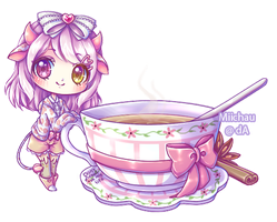 Sweet and Spicy tea by Miichau