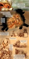 Band-Aids: Mission2 side2 pg2 by SnowHowl